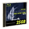 BLU-RAY BD-R PLATINUM 25GB 4x JEWEL CASE 1 SZT.