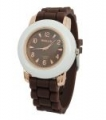 Zegarek silikonowy Jelly Watch Brown