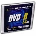 Płyty DVD-R ESPERANZA MINI 1,4GB SLIM